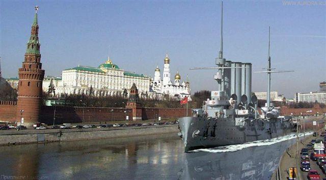 Картинки по запросу крейсер аврора на москва реке